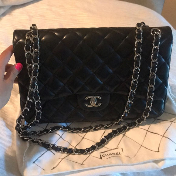 4cd94ae6c562db CHANEL Bags | Quilted Lambskin Classic Double Flap Bag | Poshmark
